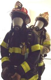 Rescue Capt. Fanelli & Asst. Chief Budd