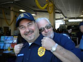 "David ""Keebee"" Kibler, Sr. & Chief Finocchiaro @ BHFC Open House"