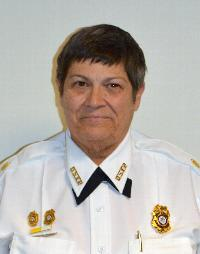 Cheryl Kelly, President Delaware State Fire Police Association (Claymont)