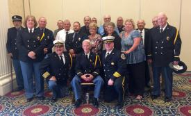 Officers and Members of BHFC with DVFA President Richard T. Perillo