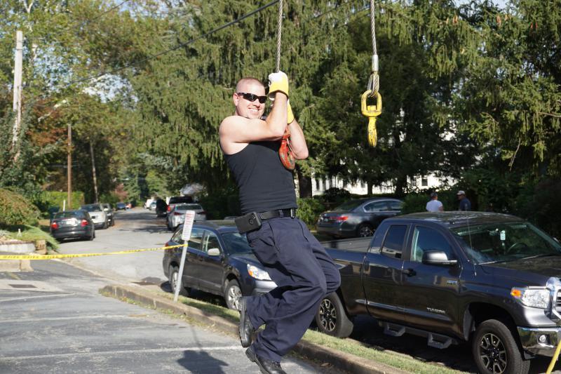 Firefighter Kirkner