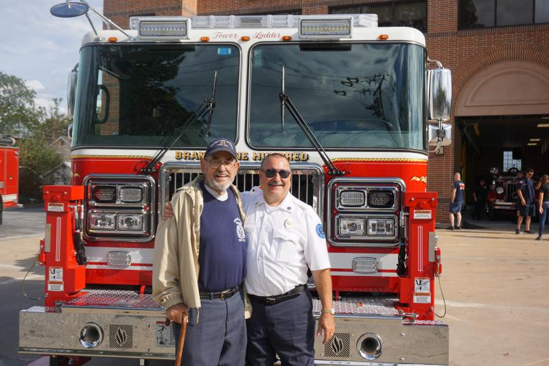 Mr. Pletz & Chief Finocchiaro