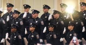 Swearing in of Officers - 98th WPD Academy