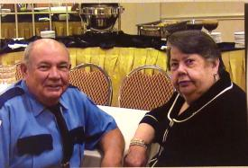 President & Fire Police Emeritus Charles Frampton & wife Ann