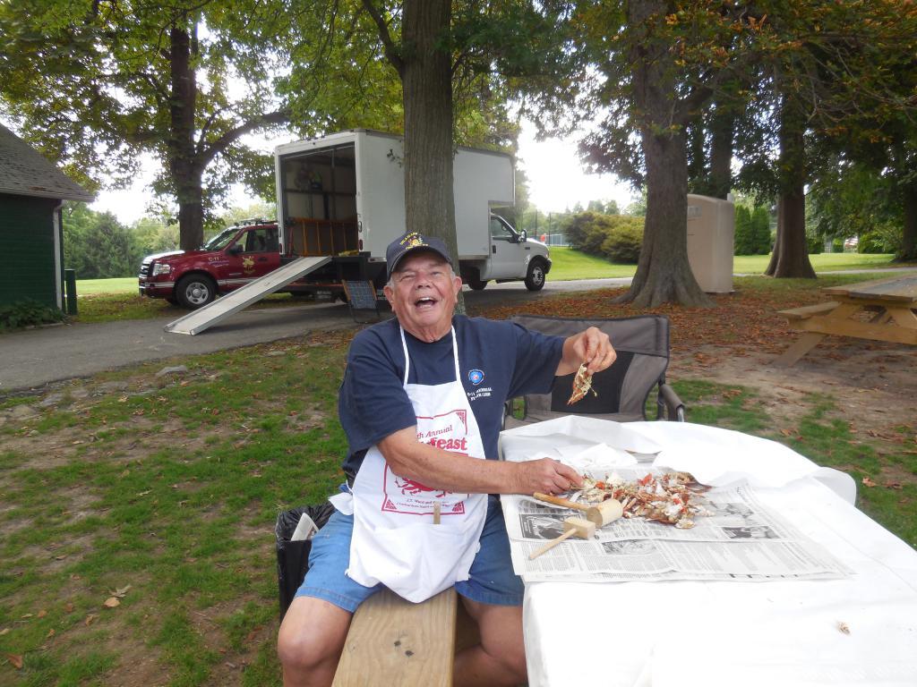 Charlie @ BHFC summer picnic